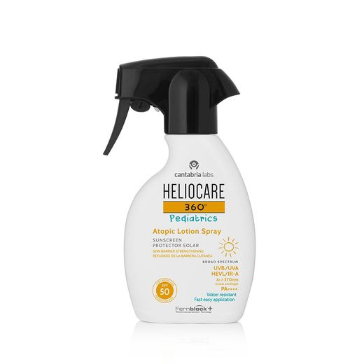 Heliocare 360° Pediatrics Atopic Lotion SpraySPF 50